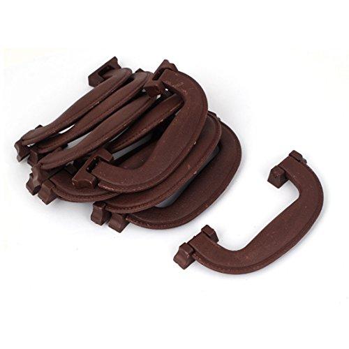 Aexit 12,7cm Griffe Kunststoff Gepäck Teil Koffer tragen Pull Griff Hängegriffe braun 100