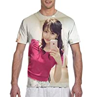 横山ルリカ (2) カジュアル Tシャツ 夏用 半袖 衣装 トレーナー 日常 シャツ 男女兼用 半袖 子供服コスチューム ファッション潮流 運動する 半袖