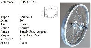 Roue Avant De Fabrication Fran/çaise Diam/ètre 700C Rovva - Argent/é Etrto : 28X622