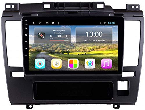 Laytte Navegación GPS De Automóvil para Nissan Tiida 2005-2010 Android Pantalla Vertical MP5 Multimedia Player Receptor De Video con 4G WiFi,4core 4g WiFi:1+32gb