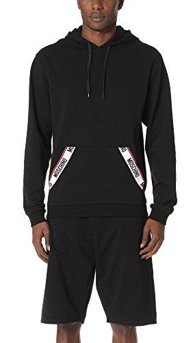 Moschino Sweatshirt Herren Logo Artikel A1703 Schwarz, Schwarz X-Small