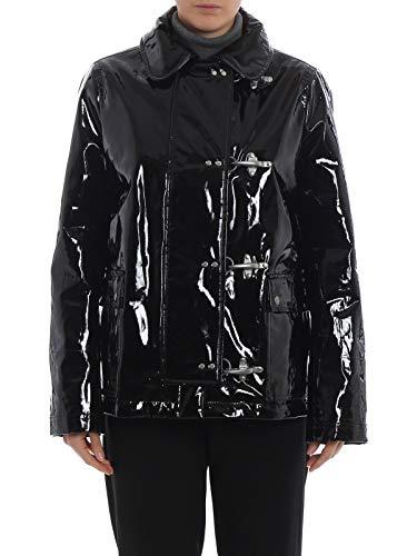 Fay Luxury Fashion Damen NAW1237513EQNAB999 Schwarz Polyester Mantel | Jahreszeit Permanent