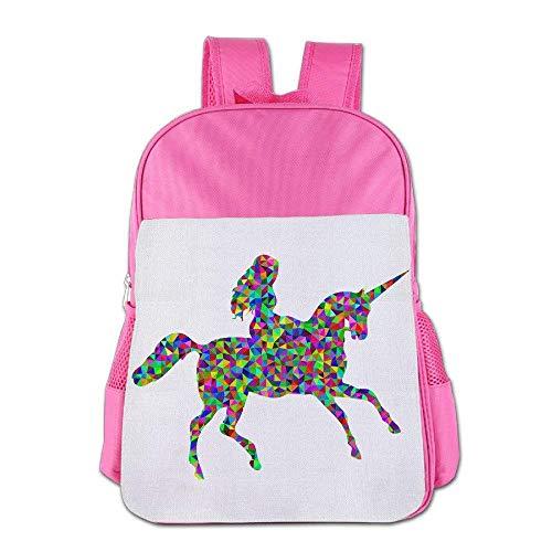 Always Be A Unicorn Children Schoolbag School Bag School Bagpack Bag For 4-15 Years Old Pink S8