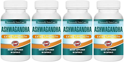 Ashwagandha Strong Extract Capsules | Ayurvedic Food Supplement for Stress,Anxiety and Fatigue Management | 100% Vegan | Indian Ginseng (4)