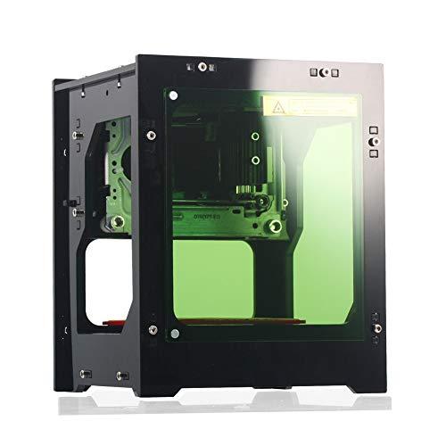 レーザー彫刻機 レーザー刻印機 加工機 2000mW 彫刻面積:約38mm * 38mm 高速度 高精度 高安定性 レーザーマーキングマシン Win7 / Win8 / XP / Win10など用 マイクロレーザー彫刻切断機 (ノーマルバージョン)
