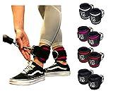 LEGEND Fußschlaufen (gepolstert) (2Stück) - für Fitness Training am Kabelzug - Ankle Straps -...