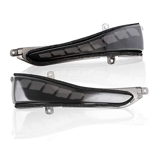 LED-Mirror-Sequential-Turn-Signal-Light-Parking-Puddle-BLACK-Verion-The-3rd-Generation-For-infiniti Q50 14-18 Q60 13-18 Q70 15-17 QX30 2017 QX80 2016