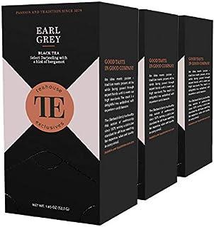 teahouse exclusives TE Earl Grey, 20 Gourmet Tea Bag / 3er Pack