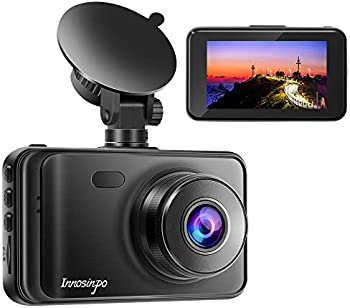 Innosinpo 3 Inch LCD 1080P FHD DVR Car Dashboard Camera
