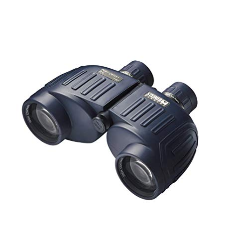 Steiner Navigator Pro 7x50 Binoculars - Magnification 7X - High Contrast Optics - Floating Prism System - Sports-Auto Focus - Delivers Excellent Image Clarity, Navy Blue (7655)