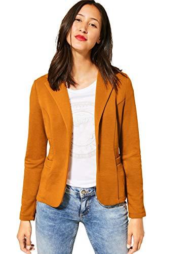 Street One Damen 211199 Sweatblazer Style Hanni Blazer, Foxy Caramel, 40