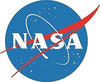 Adesivo Bumper 2 pezzi 110 x 85 mm motivo: National Aeronautics and Space Administration NASA