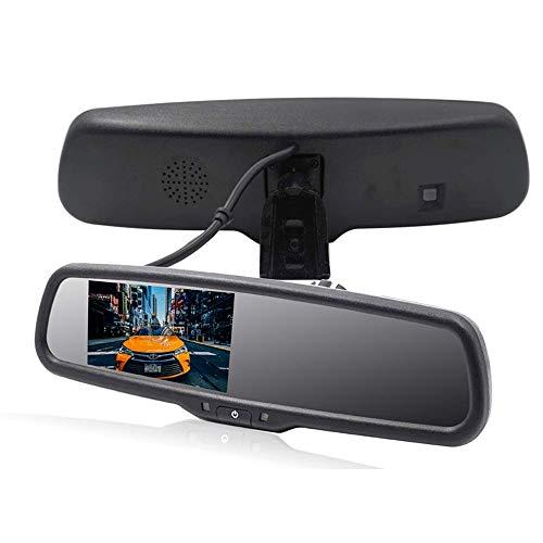 Voiture Rétroviseur Kit 4,3 Pouces Écran LCD Simple Installation Parking Assistant Inversion De L'aide Appropriée Inclus Des Camions De Voiture Et VR
