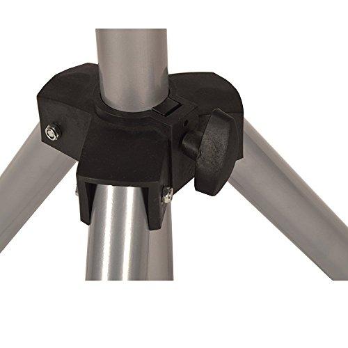 DRULINE Infrarot Heizstrahler Standheizer Terassen Strahler Fernbedienung Modell 1 – m. Thermostat - 8