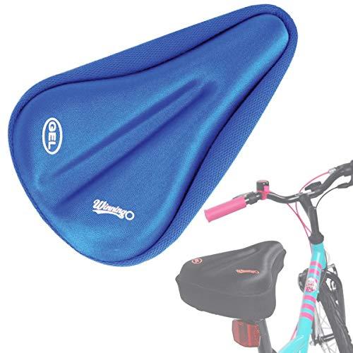 winningo Kind Bike Gel Sitzkissen für die meisten bequem klein Fahrrad Sattel Pad Kinder (Blue)