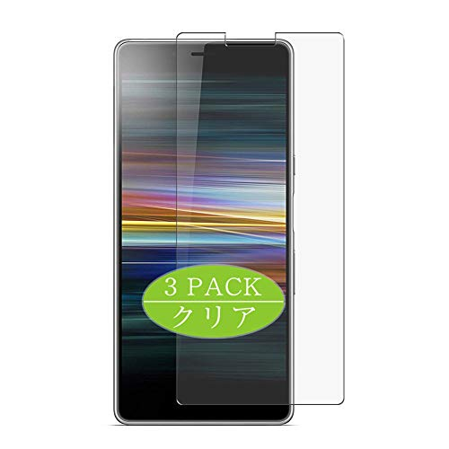 Vaxson 3 protectores de pantalla, compatible con Xperia L3, protector de película de TPU [no protectores de vidrio templado]