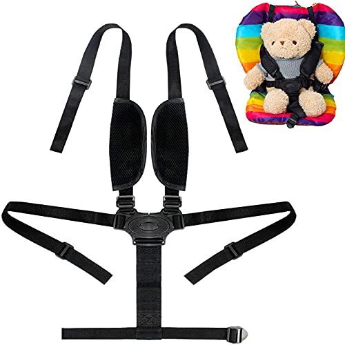 Arnés Silla Bebé 5 Puntos Cinturón Seguridad, 5 Puntos Arneses De Seguridad Para Niños Arneses Para Bebes Cinturón De Seguridad Para Cochecito Carro Silla