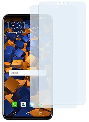 mumbi Schutzfolie kompatibel mit Huawei Honor 8X Folie klar, Bildschirmschutzfolie (2X)