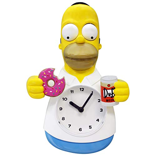 Homer Simpson 3-D Motion Clock
