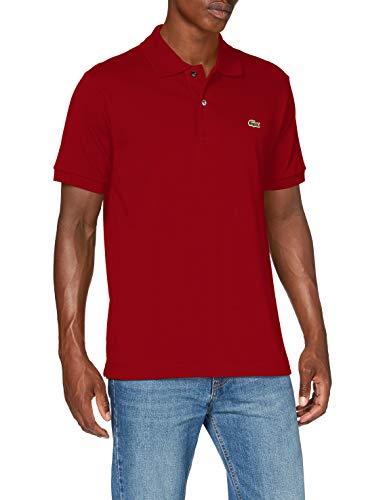 Lacoste L121200 Polo T-Shirt, Alizarine, M Uomo