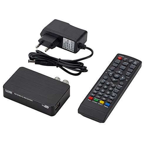 AKDSteel K2 DVB-T / T2 TV Receiver 3D Digital Video Terrestrial MPEG4 PVR HD 1080P Set-Top Box TV Box