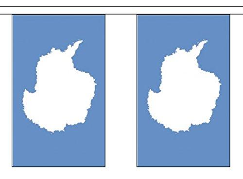 Antarctica Polyester Vlag Bunting 9m (30') Bunting met 30 vlaggen