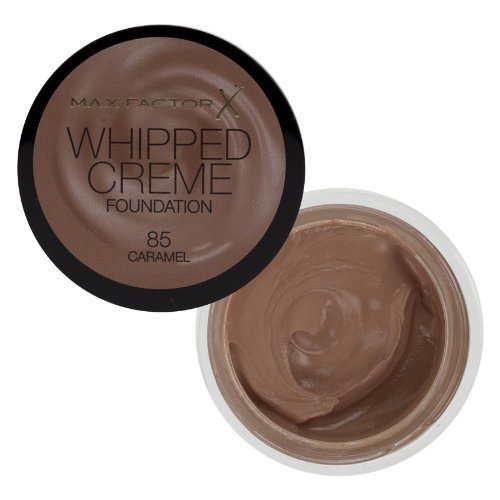 Whipped Creme Foundation by Max Factor Caramel 85 by Max Factor (English Manual)