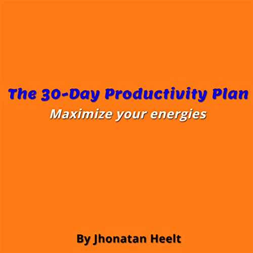The 30-Day Productivity Plan cover art