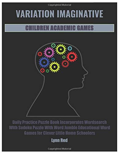 VARIATION IMAGINATIVE CHILDREN ACADEMIC GAMES: Daily Practice Puzzle Book Incorporates Wordsearch With Sudoku Puzzle ...
