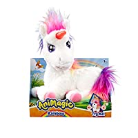 Create unforgettable memories as you play all day and fall in love with your AniMagic Rainbow Unicorn. Rainbow is a beautiful magical unicorn with her amazing rainbow mane & tail. Rainbow is super soft and cuddly. She loves hugs and snuggles. Stroke ...