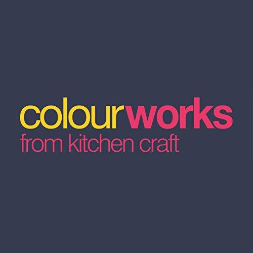 KitchenCraft Colourworks Silicone Splatter Screen, 28 cm - Red
