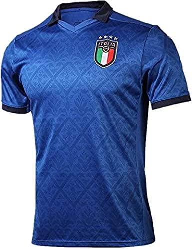 GJPSXTY Italia Maglia da Calcio Nazionale Calcio Maglia per Uomo Adulto Maschio 2021 UEFA Euro FIGC Italia Maglie da Calcio per Tifosi Lorenzo Insigne Paolo Rossi M Regolare