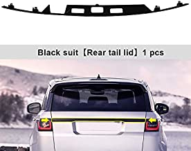 SnailAuto Rear Lid Tail Gate Cover Trim Fit for Land Rover Range Rover Sport 2014-2021 Black ABS Trunk Spoiler