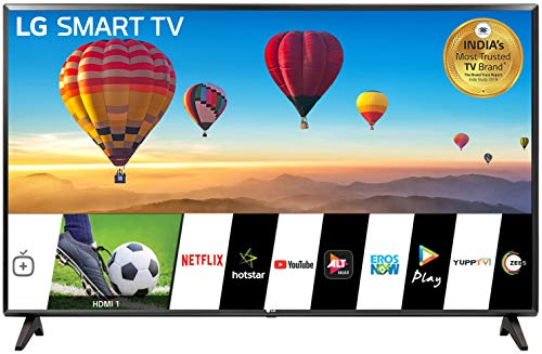 LG 80 cm (32 Inches) HD Ready Smart LED TV 32LM560BPTC (Dark Iron Gray) (2019 Model)