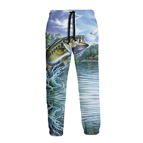 Animal Sole Fish Salmon Men 'S Pantalones Deportivos Pantalones Deportivos con Bolsillos Pantalones Deportivos para Hombres Mujeres