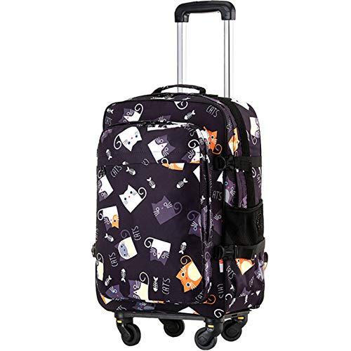 Backpack with Wheels, Travel Bag Men...