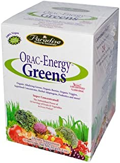 Paradise Herbs Orac Energy Greens, 3.2 oz
