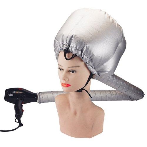 Casque bonnet soufflant avec attache-cou