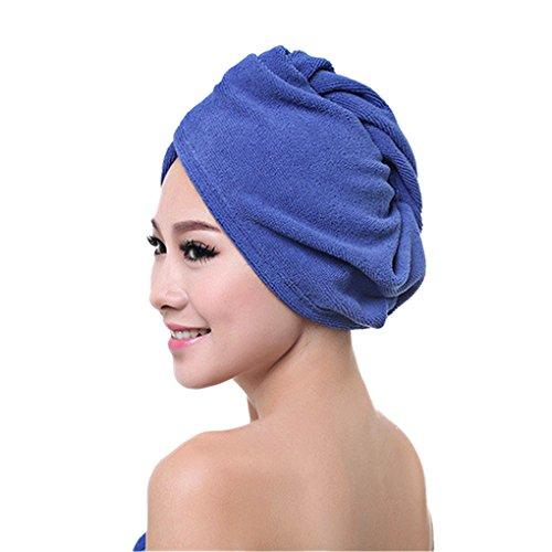 LY Serviette-Sèche Bonnet de Douche Spa en Microfibre Ultra-Doux Magique Absorbant Chapeau de Séchage Turban Wrap Cheveux Séchage Rapidement