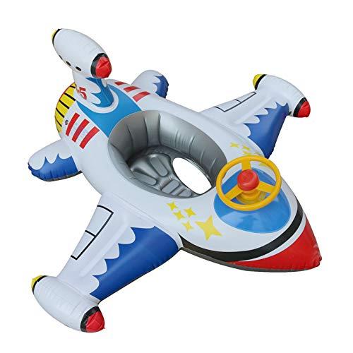 Vtops Flotadores de piscina para niños, inflables para bebés y niños, para natación, para barco, piscina, anillo de edad 1 a 4