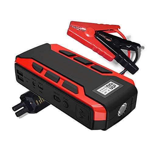 Ghafei Arrancador de coche multifuncional portátil inteligente de emergencia automática móvil fuente de alimentación, para motocicleta automotriz barco