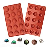 🍩[PREMIUM FOOD GRADE SILICONE MOLD]: BPA Free, Heat Resistant temperature -40 to 230 C degree (-104°F to 446°F) 🍩[MULTI-FUNCTION for MULTIPURPOSE USE]: Our Silicone Mold Bakeware for easy making Bread Cake Muffin Pudding Ice Cream Mousse Candy Jelly ...