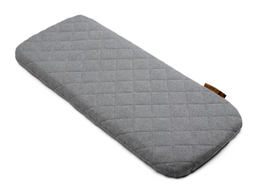 Bugaboo Wool Mattress Cover, Grey Melange