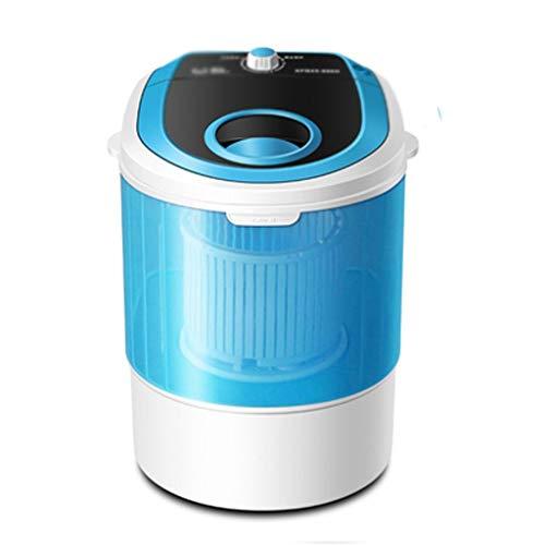 JYDQT Mini Machine à Laver Automatique Femmes Enfants Vêtements Nettoyant Déshydraté Mini Tube Wash Machine à Laver Cylindre Unique (Color : A)