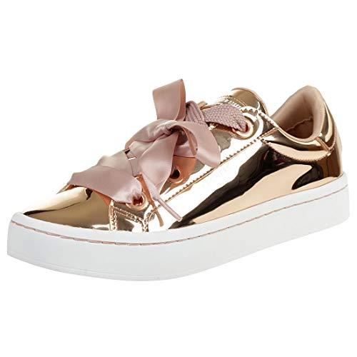Skechers Damen Hi Lite - Liquid Bling Sneaker, Gold (Rose Gold), 40 EU