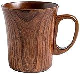 ADIS Tazas de té japonesas de madera natural de azufaifa, tazas de té de madera maciza, taza de café, taza de vino para beber té, café, bebidas calientes, A6