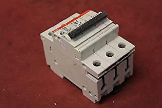 ABB S273 6A/T3 10ka 240/415V 3 Pole 6A Circuit Breaker Used