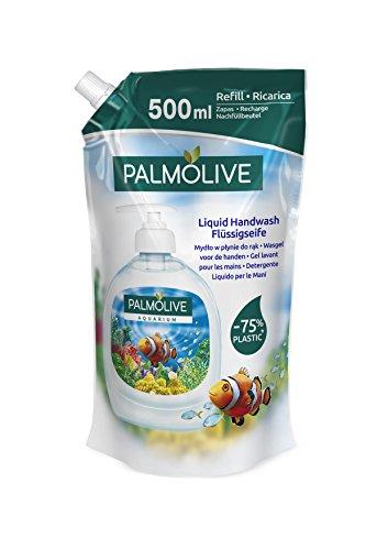 Palmolive Flüssig Seife Aquarium mit Flora, 2er Pack (2 x 500 ml)