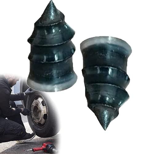 Car Tire Repair Rubber Nails Auto Motorcycle Vacuum Tire Repair Rubber Nail Fast Tool Self-Service Tire Repair Nail, Ultimate Tire Repair Plug Kit Tire Patch Kits Puncture Repair Kit ?20pcs? (S)