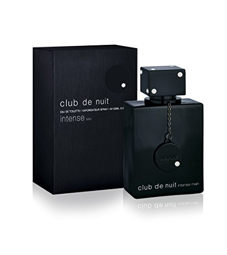 Armaf Club De Nuit Intense Man EDT Men New in Box, Black , 3.6 Fl Oz